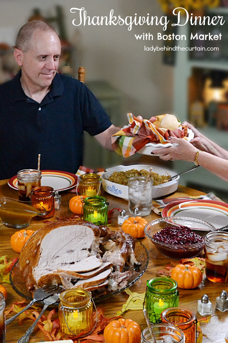Catered Thanksgiving Dinners  Thanksgiving Dinner with Boston Market