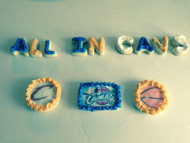 Cavs Halloween Cookies  28 best images about Custom sugar cookies on Pinterest