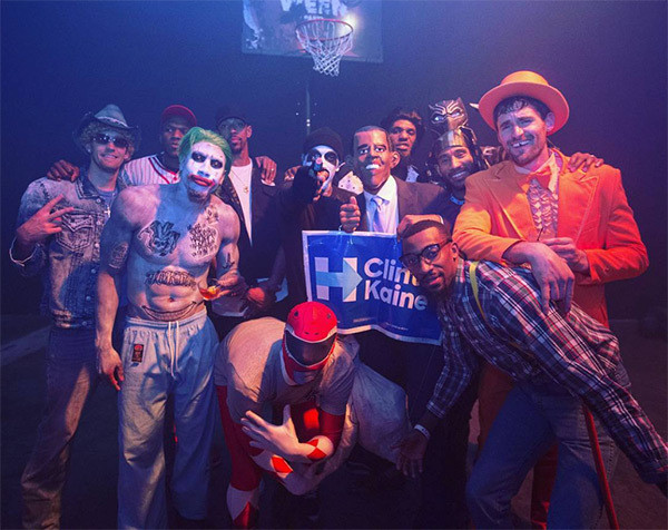 Cavs Halloween Cookies  [PICS] LeBron James' Halloween Party s Bash For