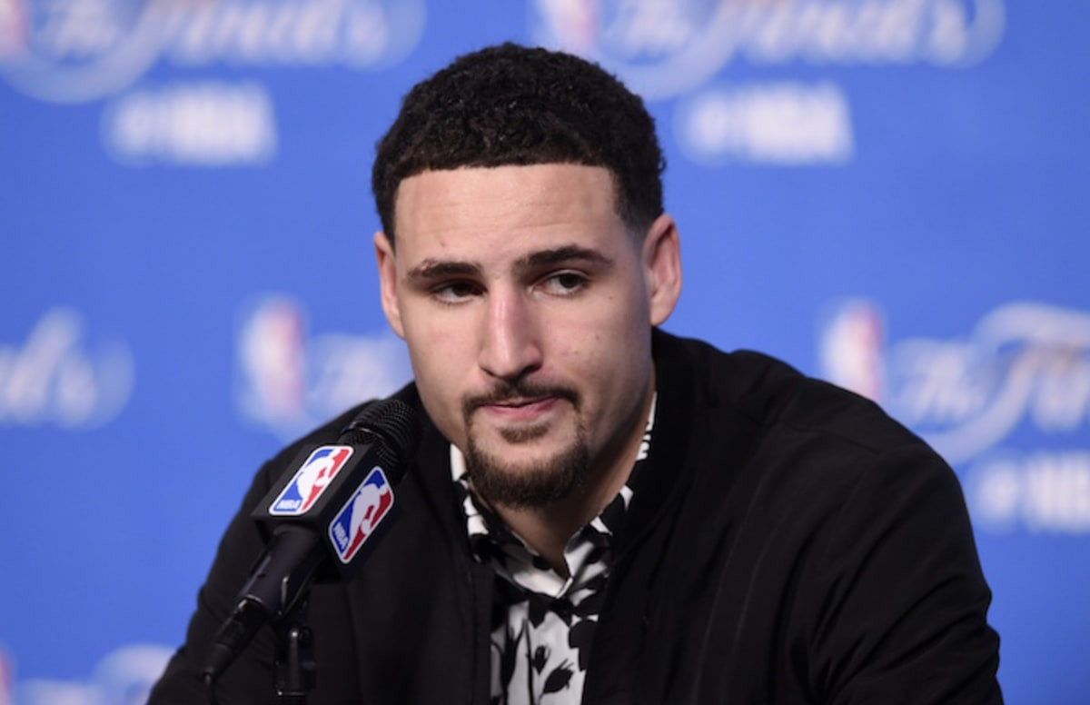 Cavs Halloween Cookies  Klay Thompson Gives Peak Klay Response to Anti Warriors