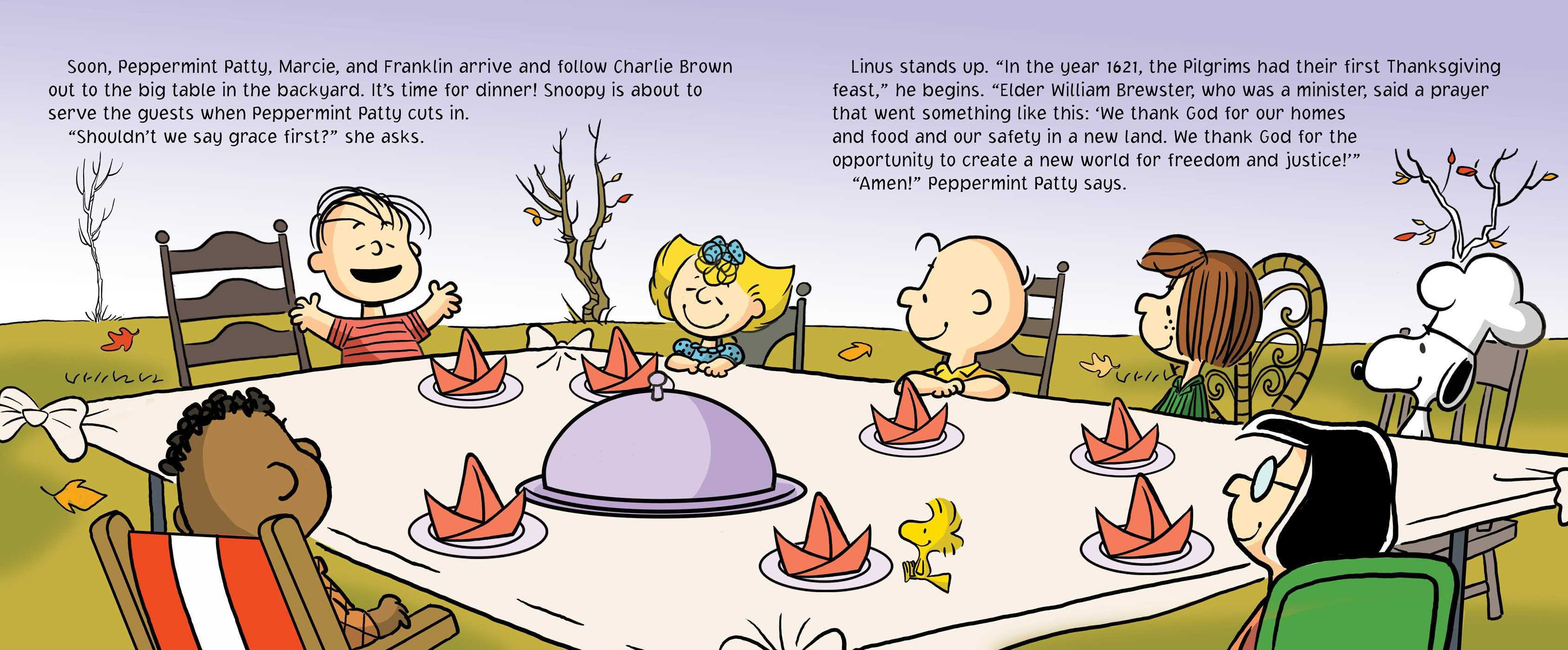 Charlie Brown Thanksgiving Dinner  A Charlie Brown Thanksgiving