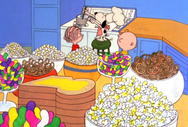 Charlie Brown Thanksgiving Dinner  A Charlie Brown Thanksgiving 1973 Review BasementRejects