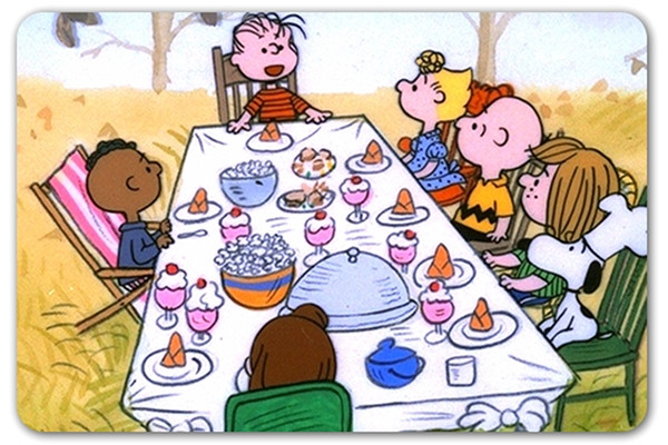 Charlie Brown Thanksgiving Dinner  Dinner Menus Before Thanksgiving Are Too Difficult