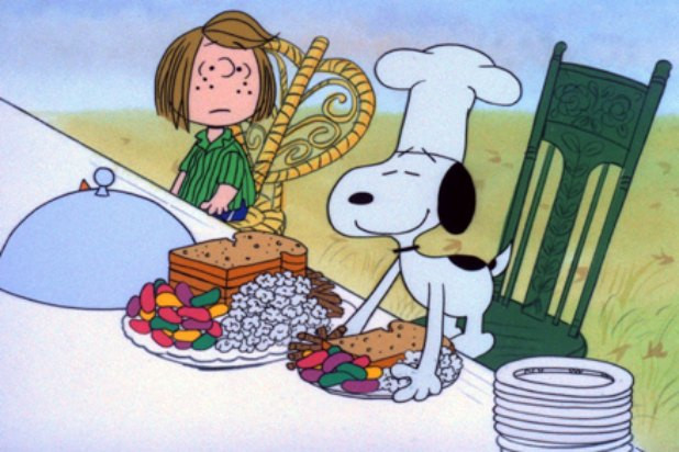 Charlie Brown Thanksgiving Dinner  Thanksgiving Viewing Guide 17 Shows Movies and Specials
