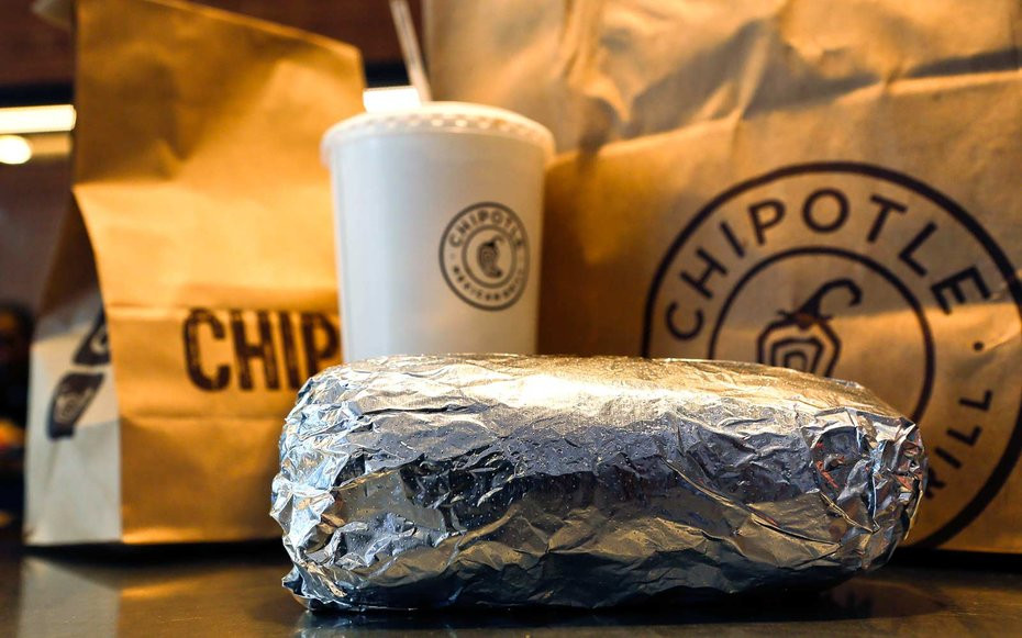 Chipotle Halloween Burritos  Chipotle is fering $3 Burritos If You Show Up In