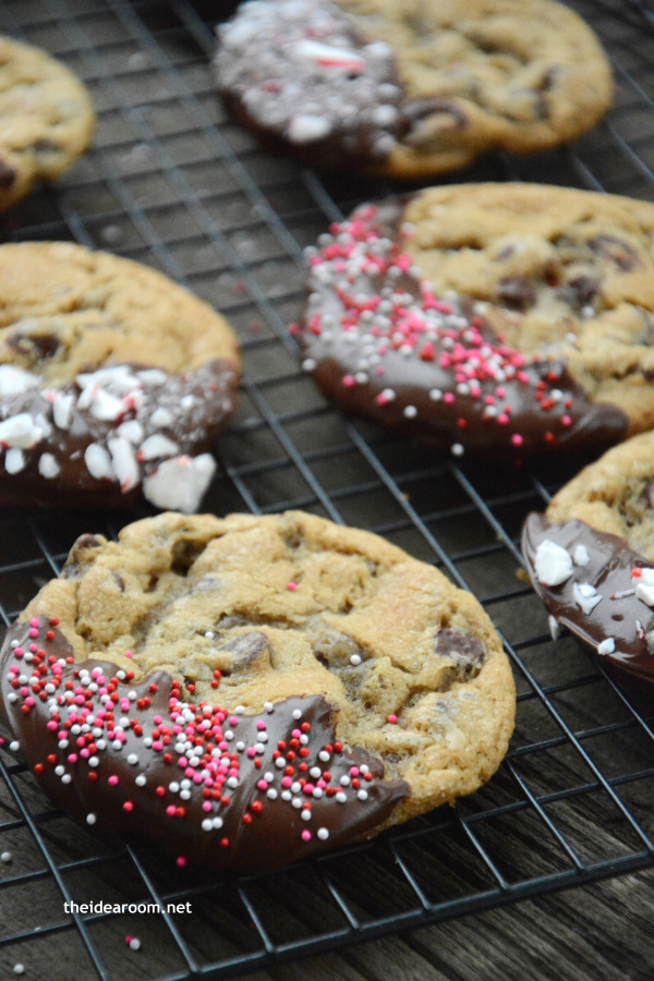 Chocolate Chip Christmas Cookies  Chocolate Chip Christmas Cookies The Idea Room