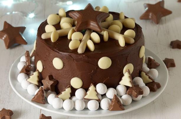 Chocolate Christmas Cake  Alternative Christmas Cake Ideas