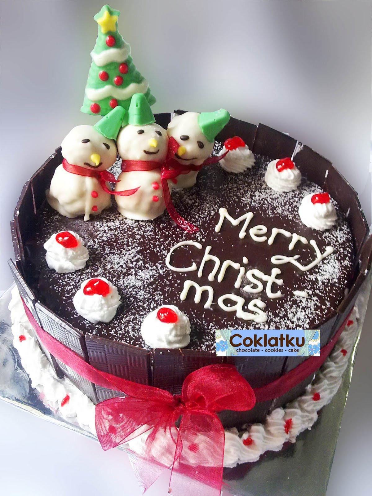 Chocolate Christmas Cake  Christmas Cake Ideas