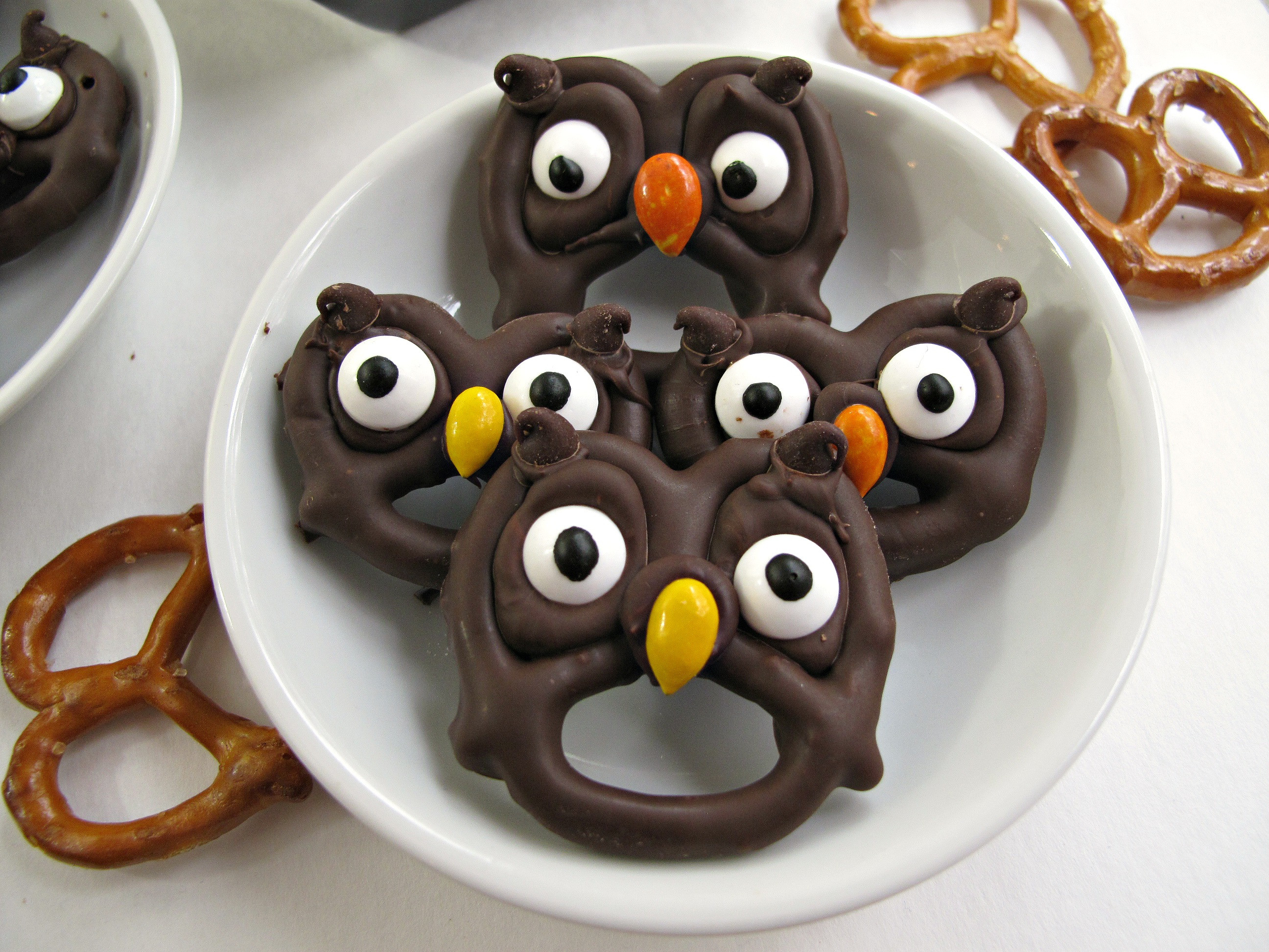 Chocolate Dipped Pretzels For Halloween  Halloween Pretzels easy fast and fun The Monday Box