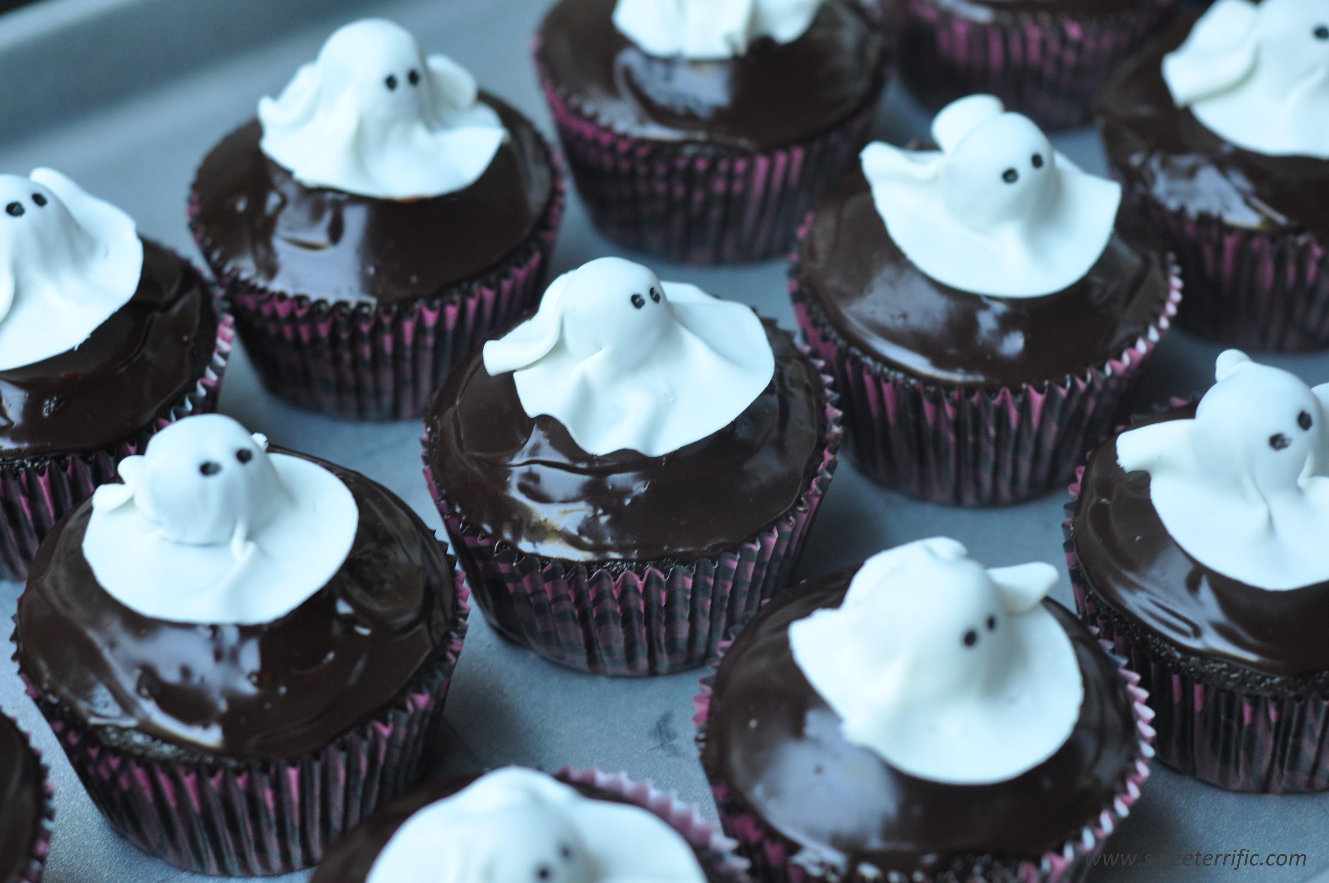 Chocolate Halloween Cupcakes  Cupcakes