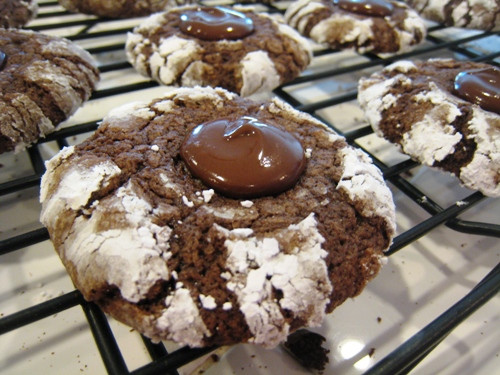 Chocolate Mint Christmas Cookies  Chocolate Minty Melts