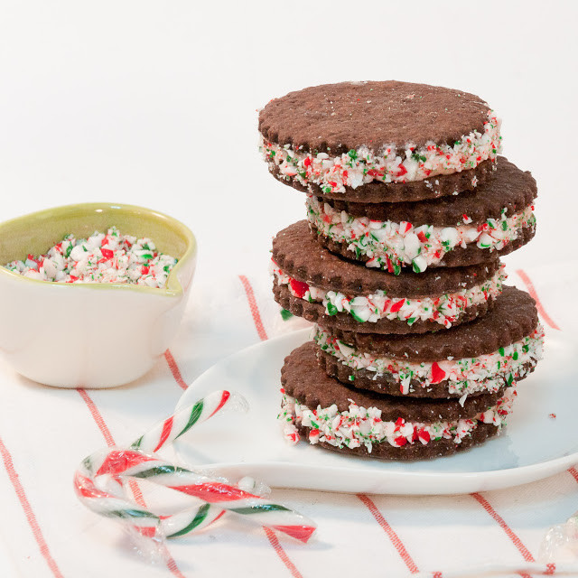 Chocolate Mint Christmas Cookies  25 more Christmas cookie exchange recipes