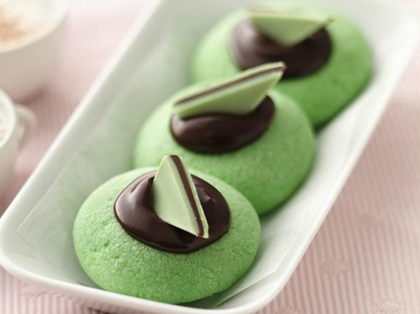 Chocolate Mint Christmas Cookies  20 Christmas Cookie Recipes