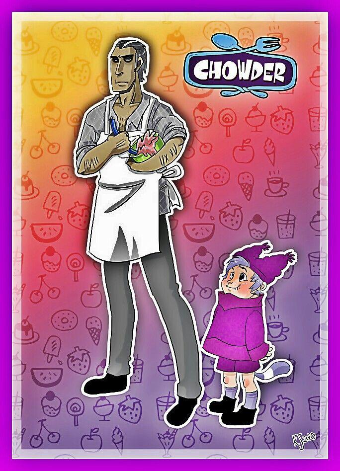 Chowder Christmas Special  Schnitzel and Chowder humanized Chowder