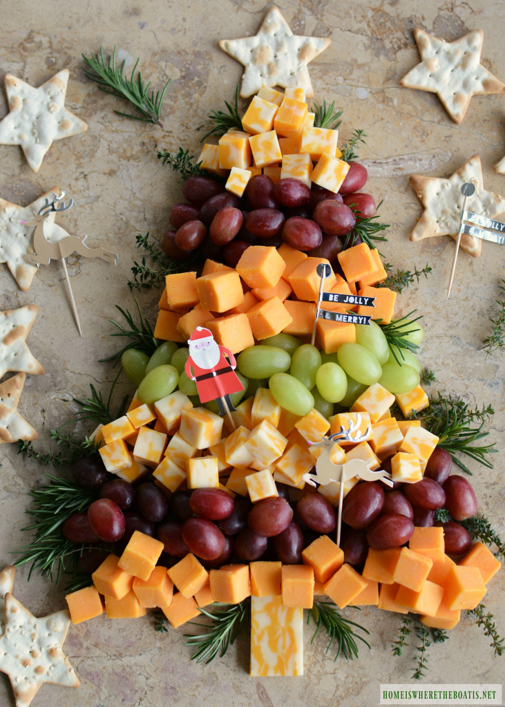 Christmas Appetizers Ideas  Easy Holiday Appetizer Christmas Tree Cheese Board – Home