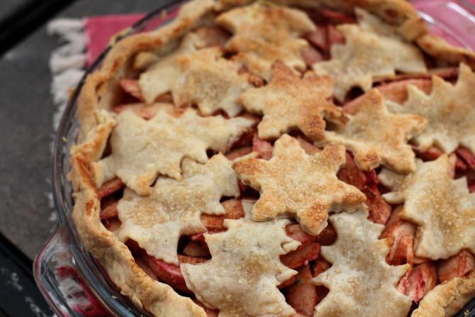 Christmas Apple Pie  Christmas Apple Pie Spinach Tiger