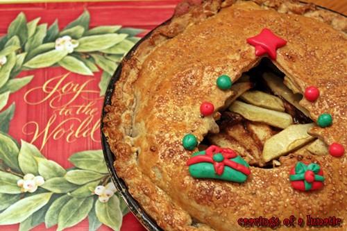 Christmas Apple Pie  Christmas Apple Pie