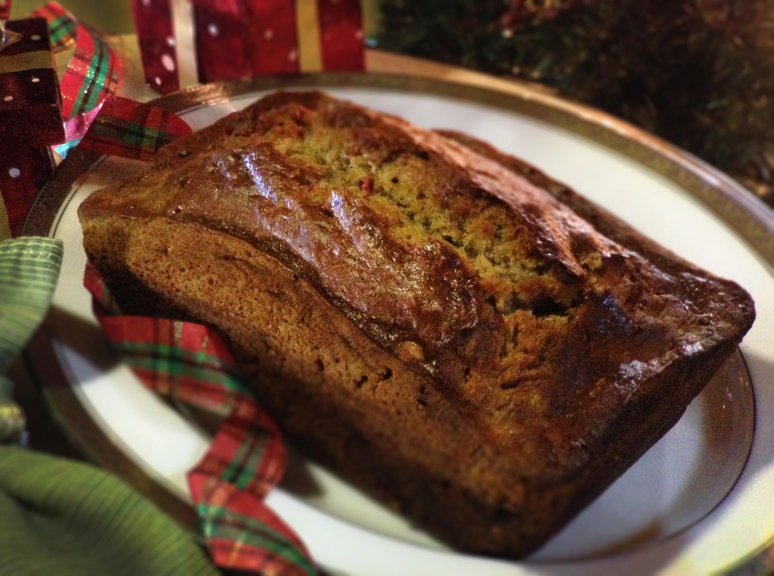 Christmas Banana Bread  Holiday Banana Bread Recipe Everyday Party Magazine