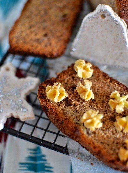 Christmas Banana Bread  Christmas banana bread Claire K Creations