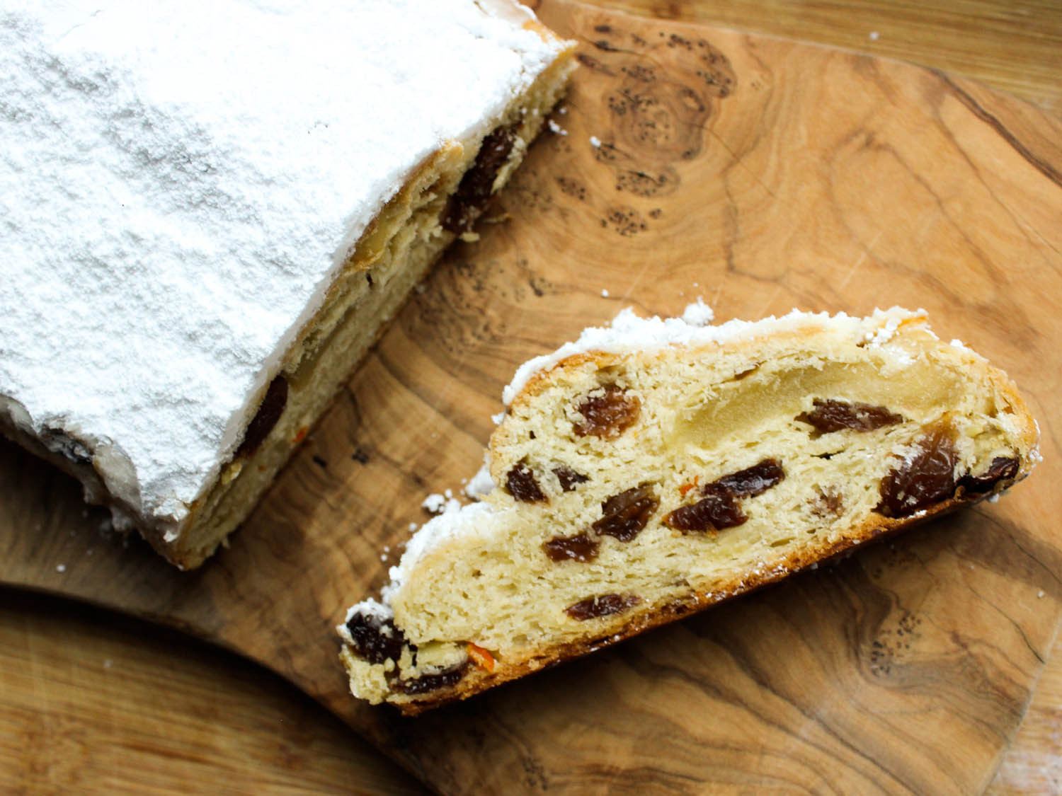 Christmas Bread Recipes  Buttery Marzipan Stollen Recipe