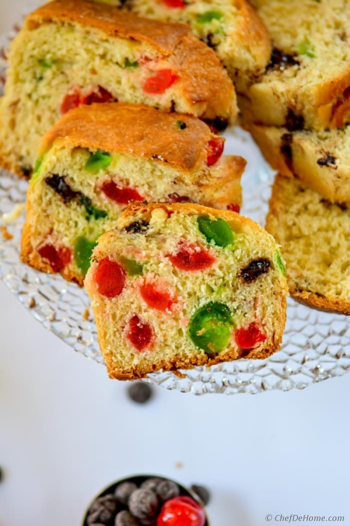 Christmas Bread Recipes  Chocolate Chip Panettone Italian Christmas Bread Recipe