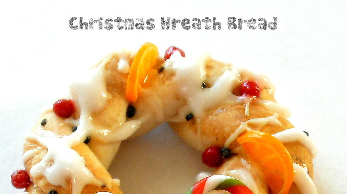 Christmas Bread Wreath  Homewardflight Christmas Wreath Bread
