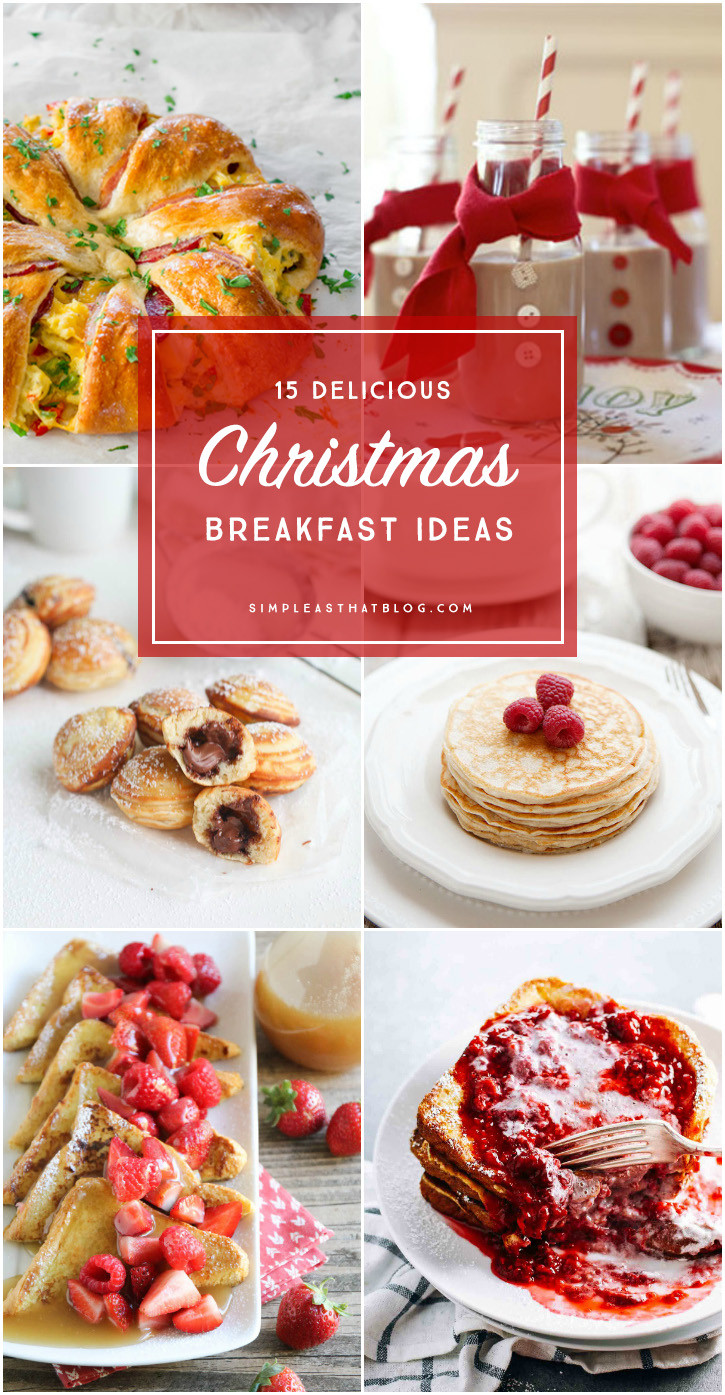 Christmas Breakfast Recipes  Yogurt Pancakes with Buttermilk Syrup