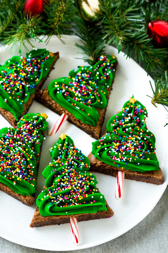Christmas Brownies Ideas  Christmas Tree Brownies Dinner at the Zoo