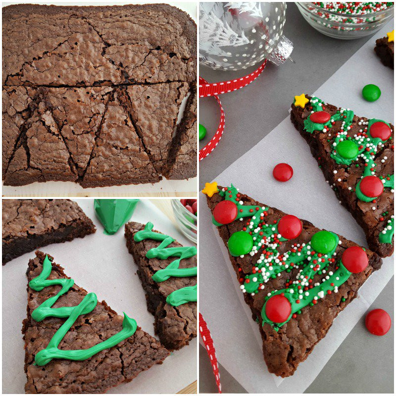 Christmas Brownies Ideas  Christmas Tree Brownies In The Playroom