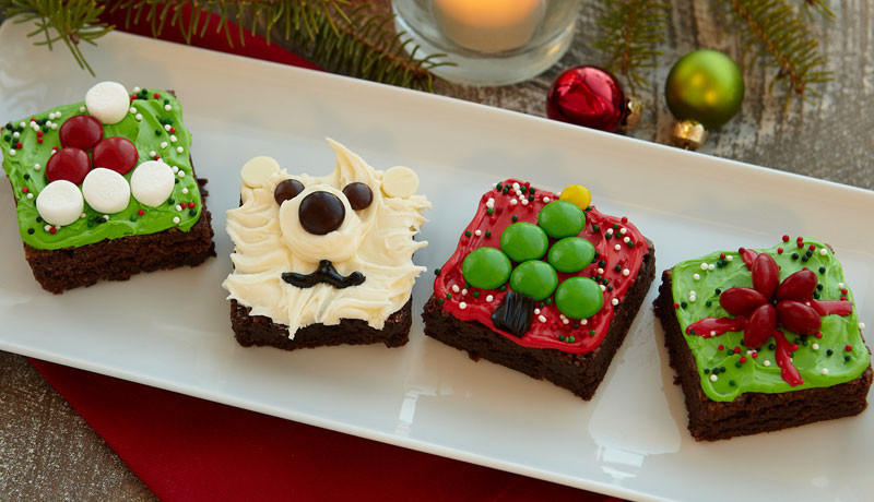 Christmas Brownies Ideas  Easy Christmas Cake & Dessert Ideas & Recipes