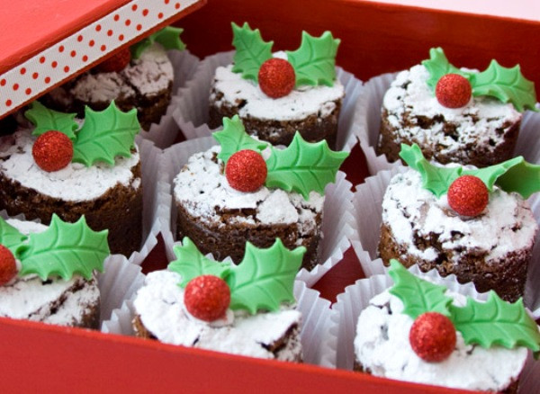 Christmas Brownies Ideas  DIY Christmas Brownie Bites Find Fun Art Projects to Do