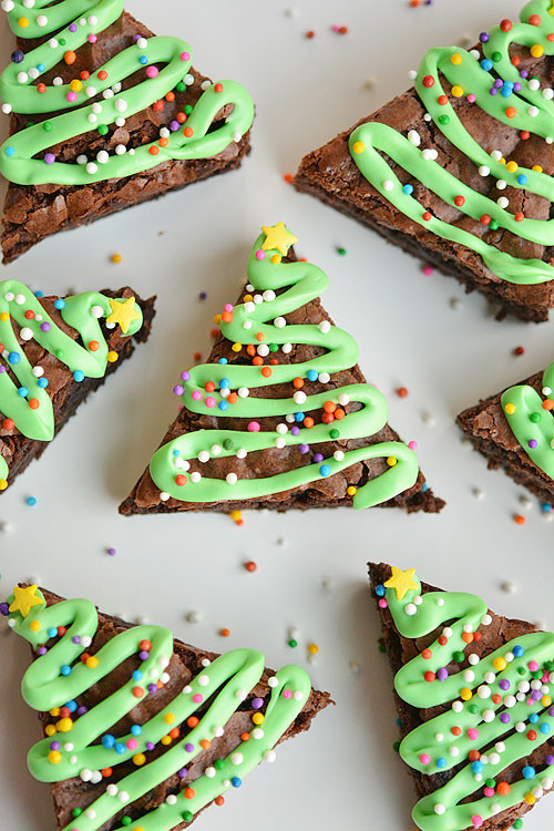 Christmas Brownies Ideas  Over 50 fun and festive Dessert ideas for Christmas A