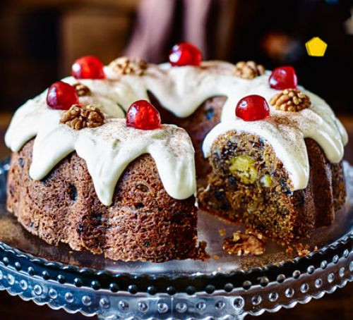 Christmas Bundt Cake  Marzipan in the middle bundt cake recipe
