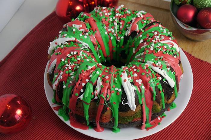 Christmas Bundt Cake  Christmas Bundt Cake Recipe