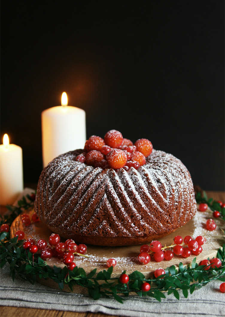 Christmas Bundt Cake  Cinnamon Girl Christmas Bundt Cake