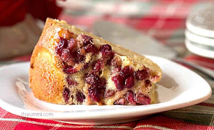 Christmas Bundt Cakes Recipes  Pomegranate Lime Bundt Cake Recipe on itsyummi