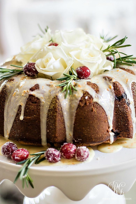 Christmas Bunt Cakes  Christmas Progressive Dinner Mom s Cranberry Bundt Cake