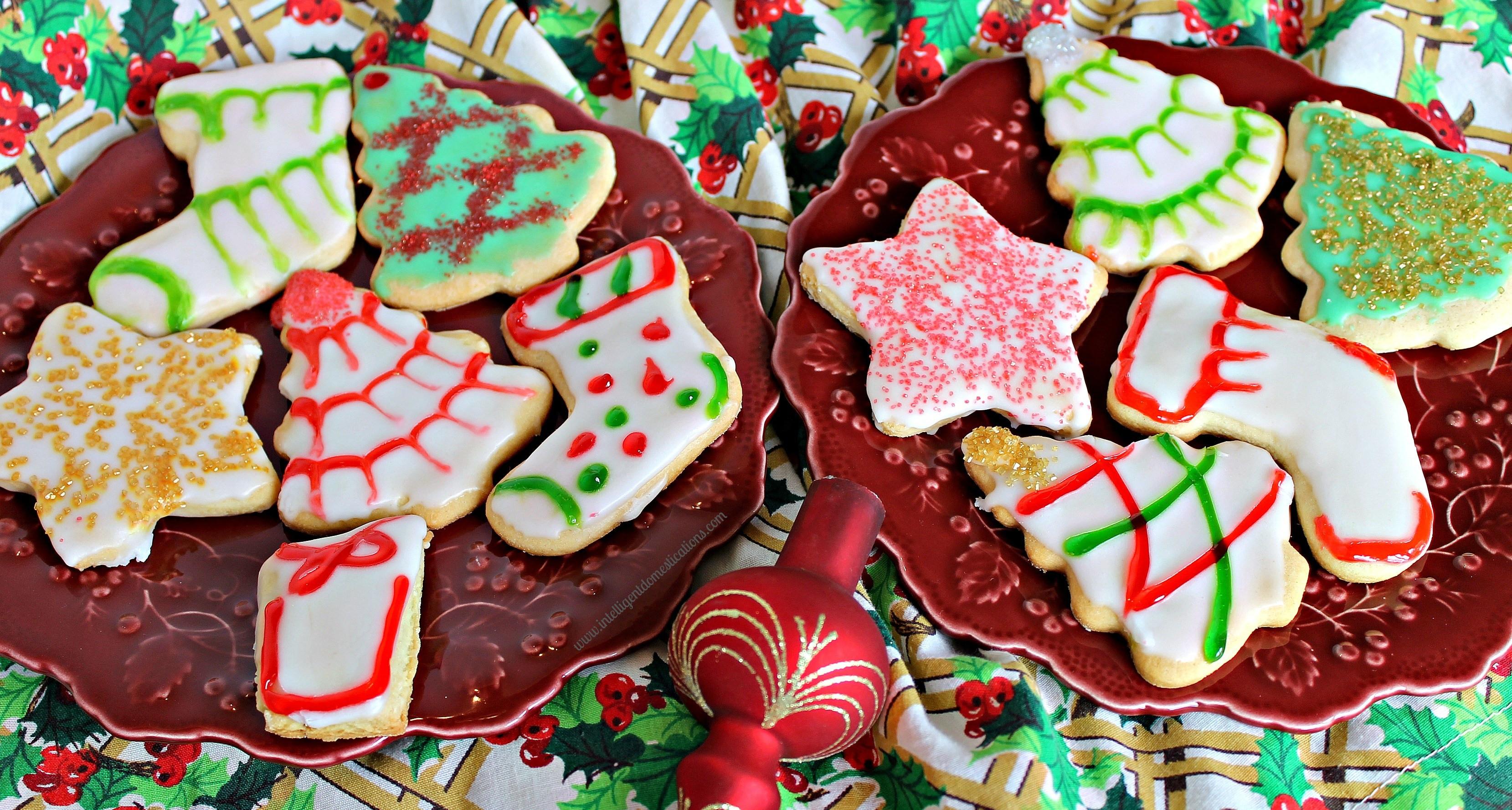 Christmas Cake Cookies  Old Fashioned Tea Cake Christmas Cookies