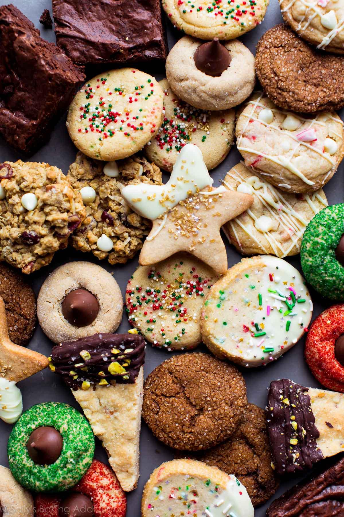 Christmas Cake Cookies  50 Fun and Festive Christmas Cookies