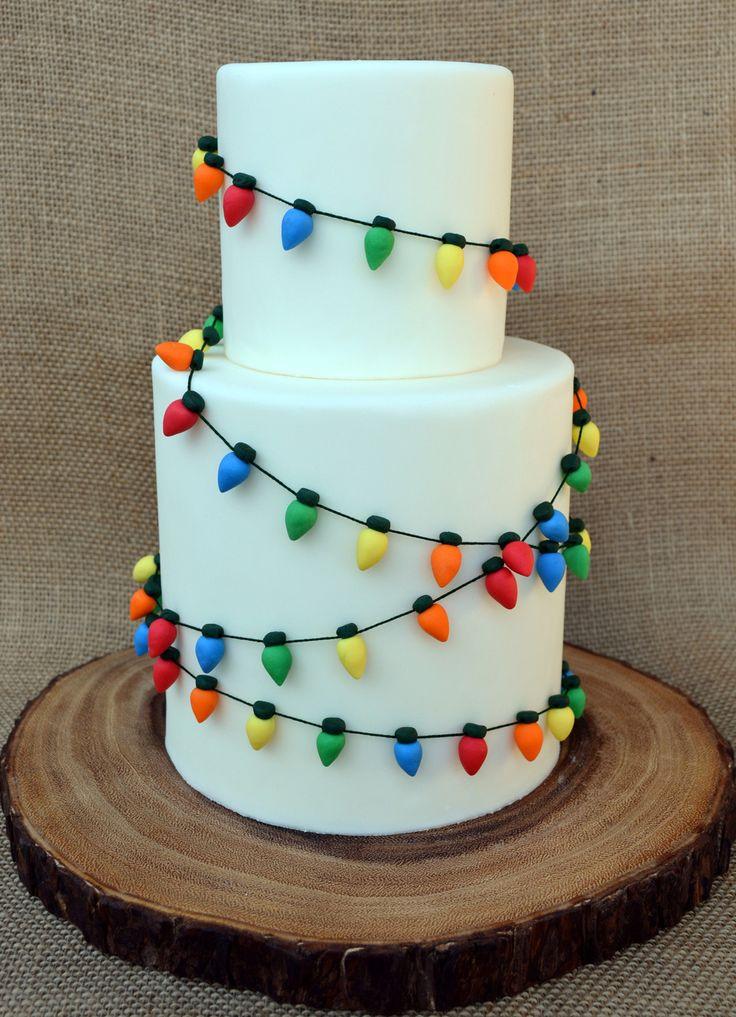 Christmas Cakes Pinterest  Best 25 Christmas cake designs ideas on Pinterest