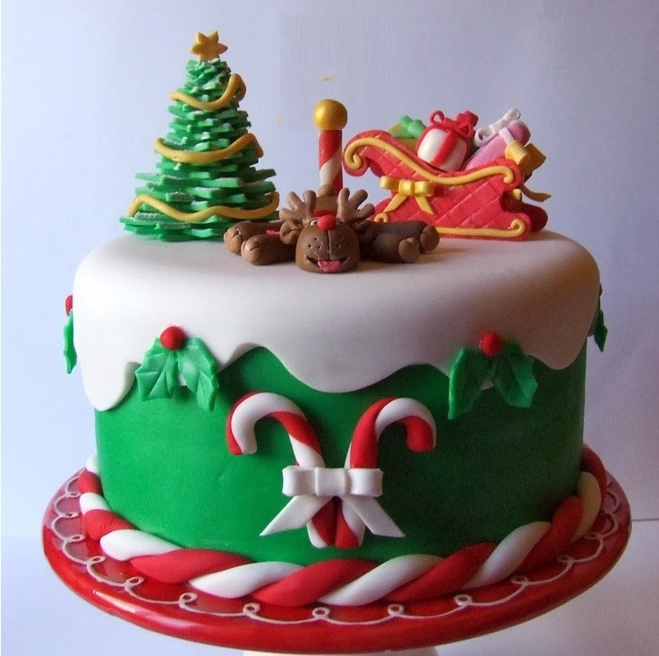 Christmas Cakes Pinterest  Christmas 2015 Cake Recipes with Pinterest