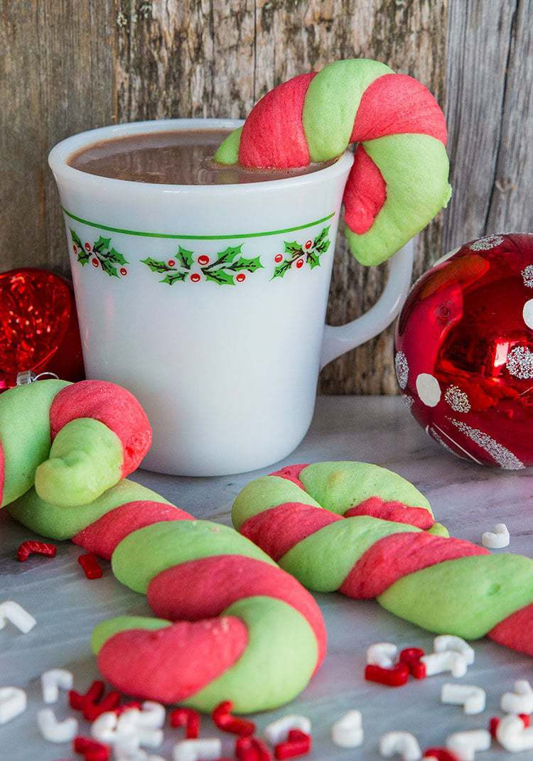 Christmas Candy Cane Cookies  Christmas Candy Cane Cookies The Kitchen Magpie