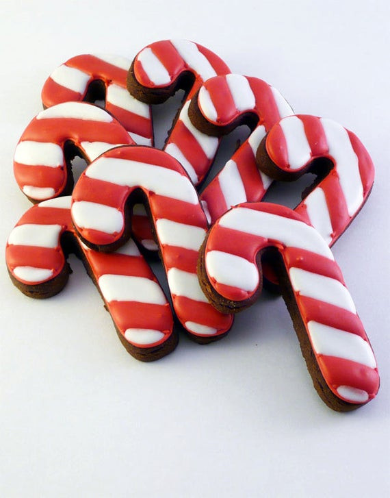 Christmas Candy Cane Cookies  Unavailable Listing on Etsy