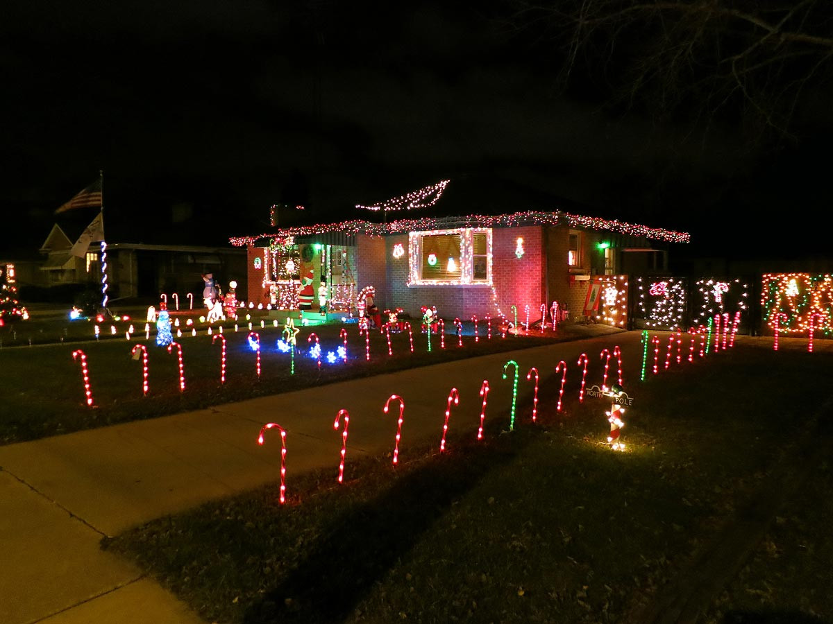 Christmas Candy Cane Lights  Christmas decorations Candy cane lights Racine Wisconsin