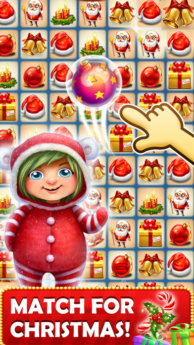 Christmas Candy Crush  App Shopper Christmas Crush Puzzle games to match candy