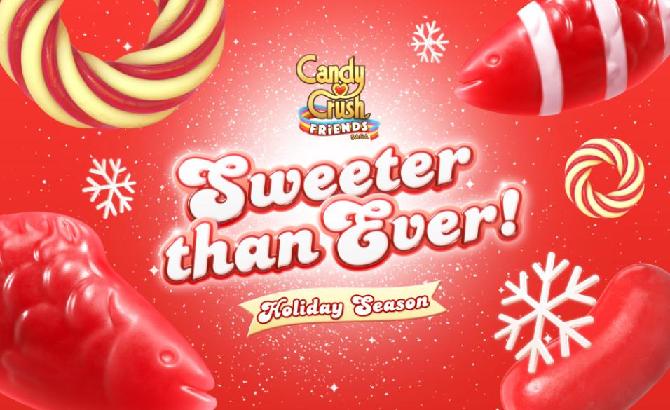 Christmas Candy Crush  Candy Crush Friends Saga gains Santa Yeti Christmas Maps