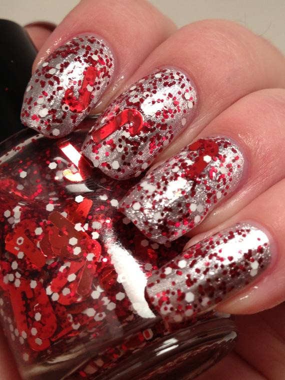 Christmas Candy Crush  ON SALE Candy Cane Crush Candy Cane Glitter