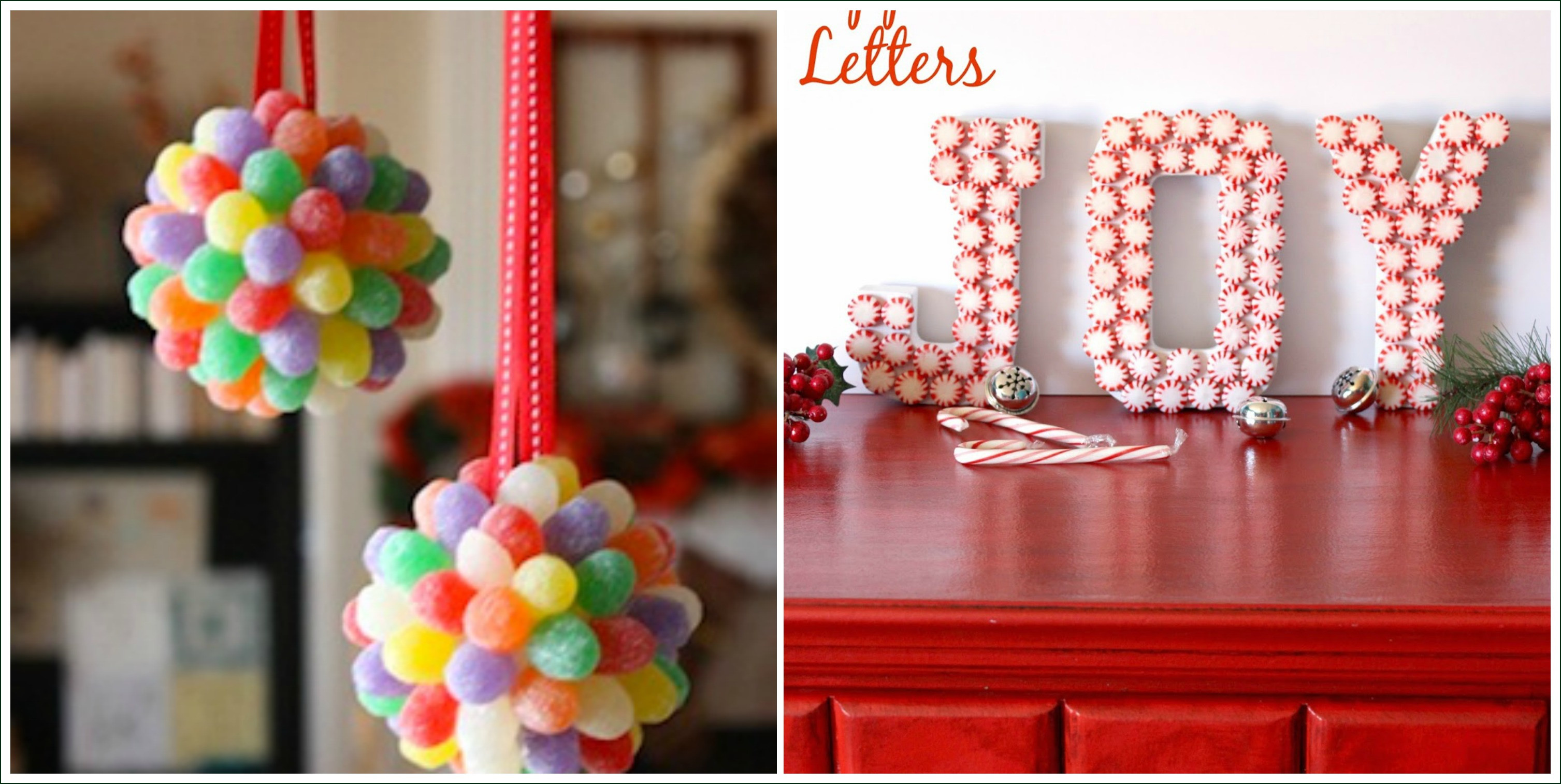 Christmas Candy Decorations  14 Candy Christmas Decorations to Sweeten Your Home