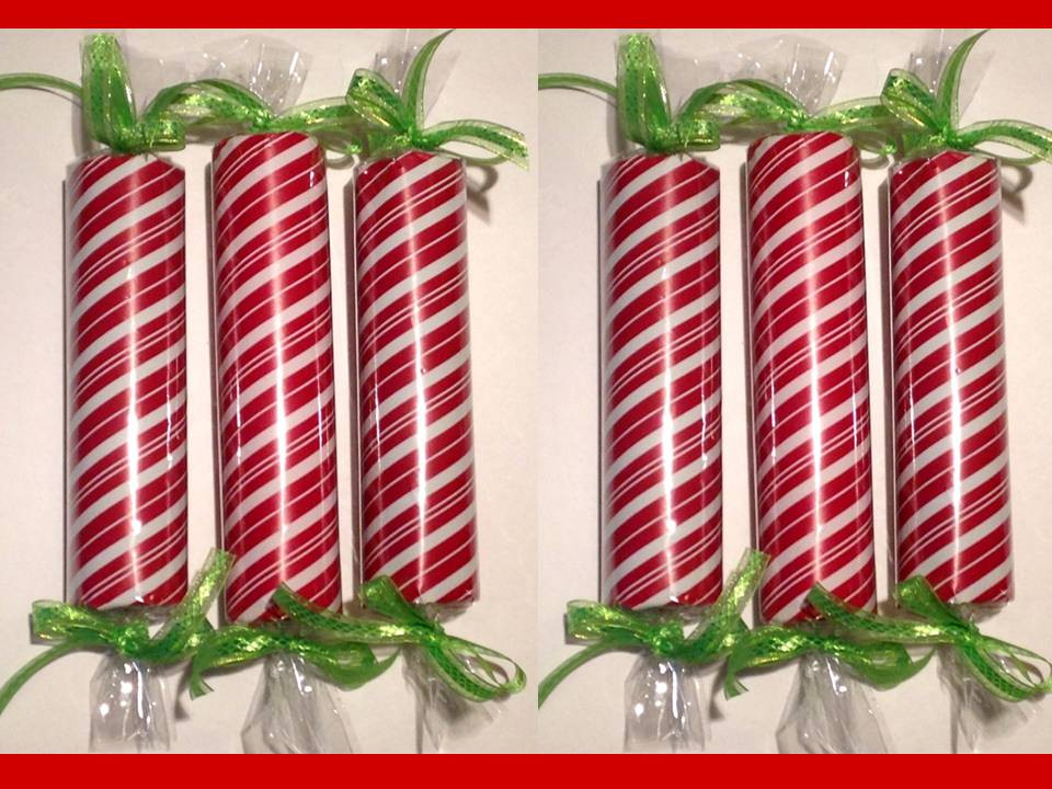 Christmas Candy Decorations  How to make – faux CHRISTMAS CANDY Decorations