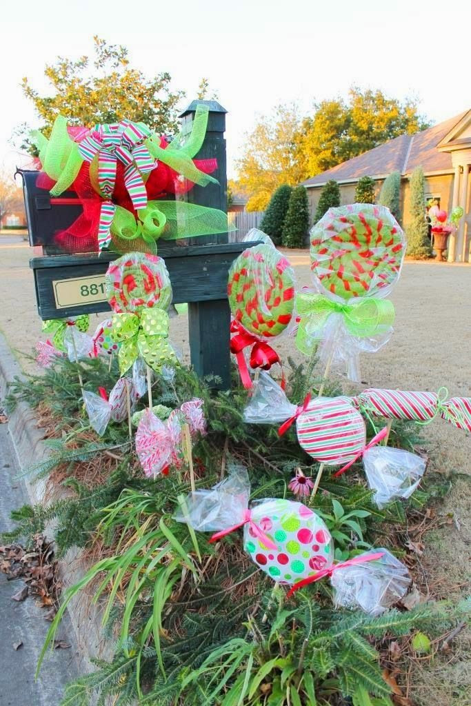 Christmas Candy Decorations  25 best ideas about Candy decorations on Pinterest